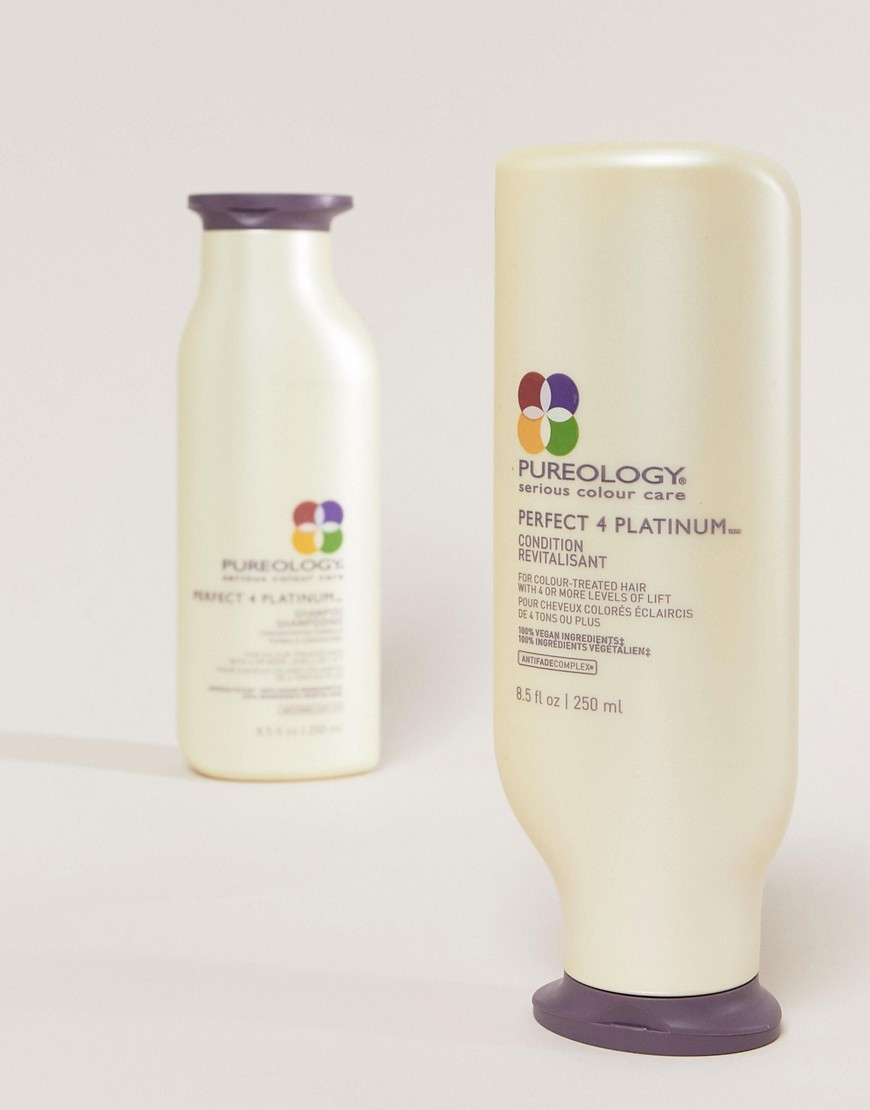 Pureology Perfect 4 Platinum Shampoo & Conditioner 250ml by Pureology