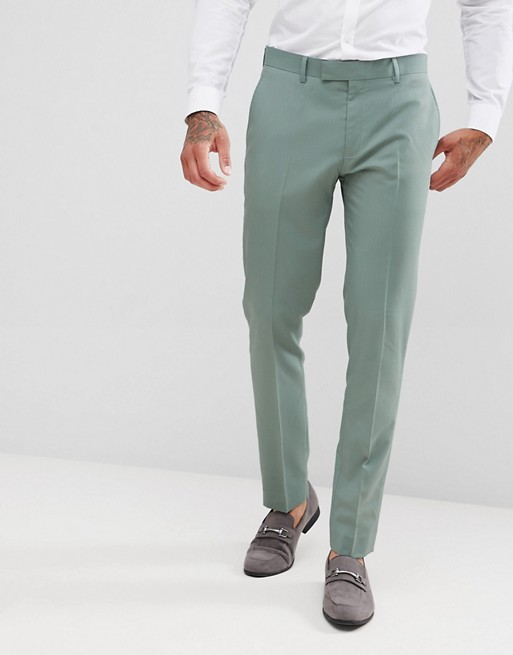 mint suit fit skinny River River Island Island in pants g7qC78a