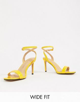 River Island Wide Fit Heeled Sandals by River Island