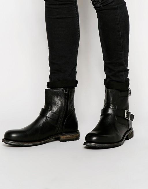 Buy Men Shoes / Selected Homme Ben Bikerboot