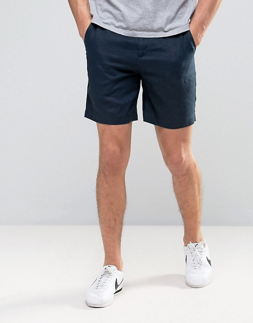 Selected Homme - Short 100% lin