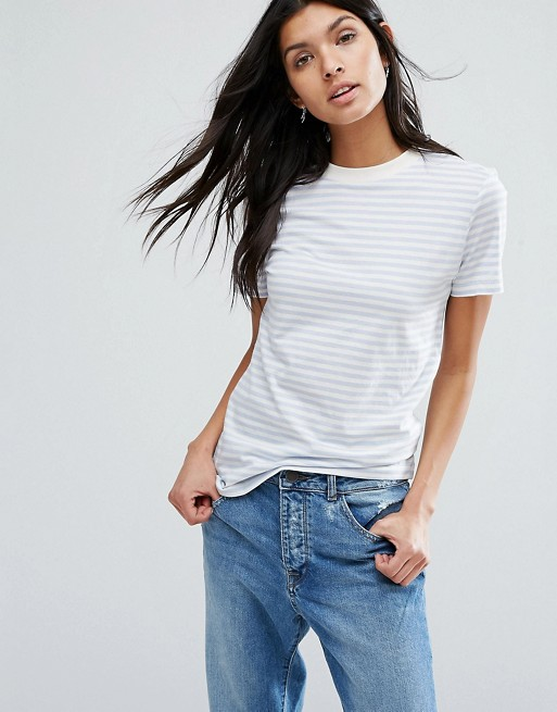 Selected - Selected - T-shirt rayé