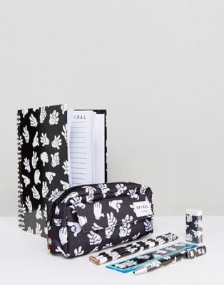 Image 1 of Spiral Pencil Case & Stationery Gift Set