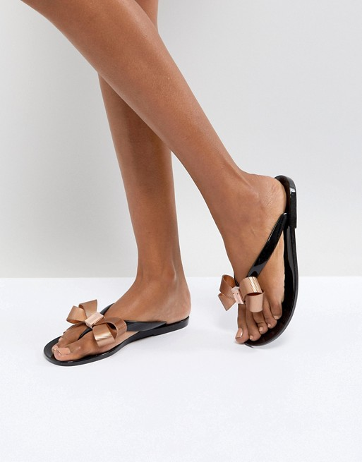 Ted Baker - Suszie - Tongs - Noir