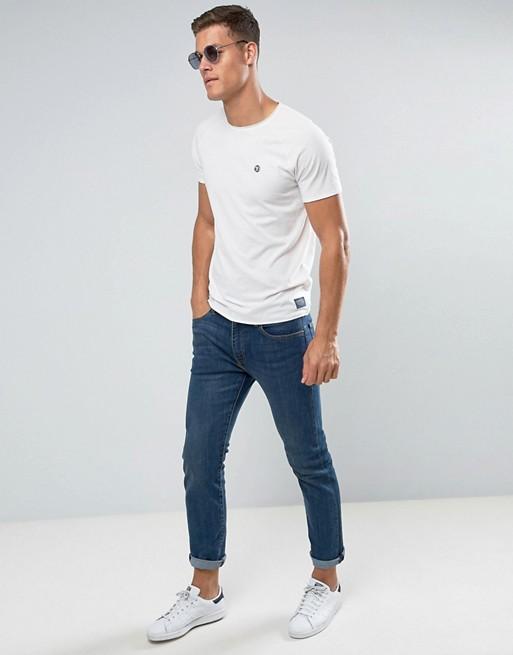 Tom Tailor - T-shirt ras du cou à imprimé sur le devant