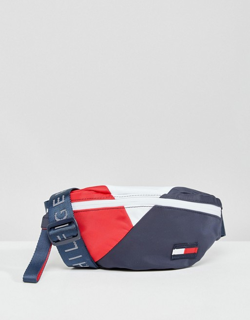 tommy hilfiger tommy hilfiger retro logo fanny pack. Black Bedroom Furniture Sets. Home Design Ideas