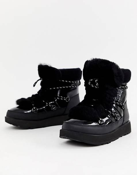 Ugg Highland Waterproof Boot in Black
