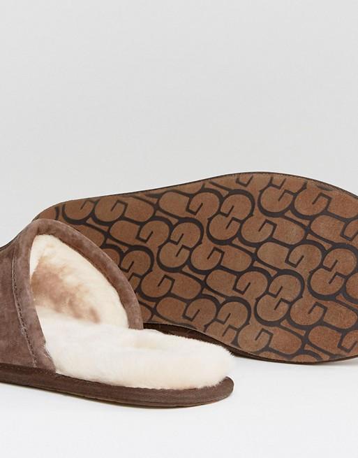 UGG - Scuff - Chaussons style mules - Marron