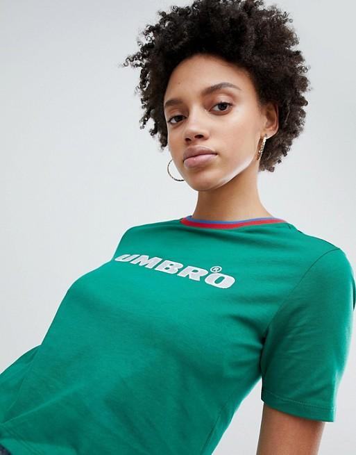 Umbro - T-Shirt avec bordure style sport