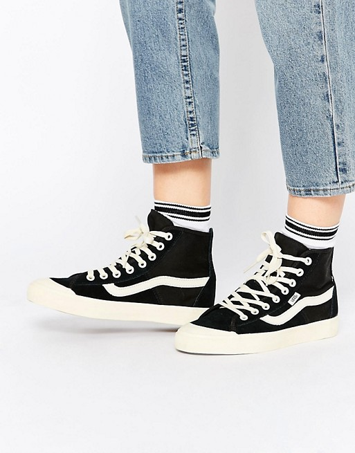 vans bianche e nere scarpe