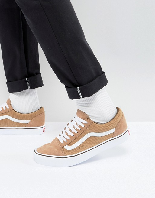 Vans Ua Old Skool Lite Sneakers In Tan Va2z5wqt6 | 2019