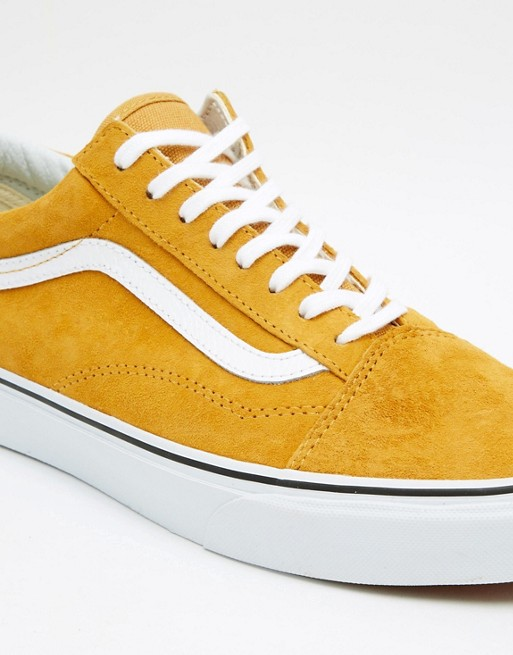vans gelb damen old skool