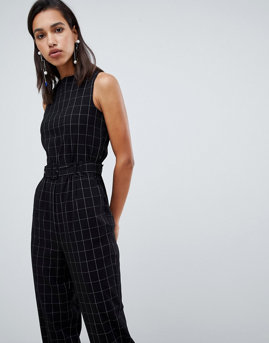 Vero Moda Check Tailored Jumpsuit by Vero Moda