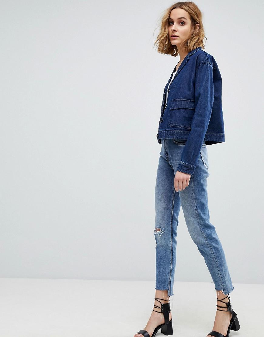 Vero Moda Denim Worker Jacket by Vero Moda