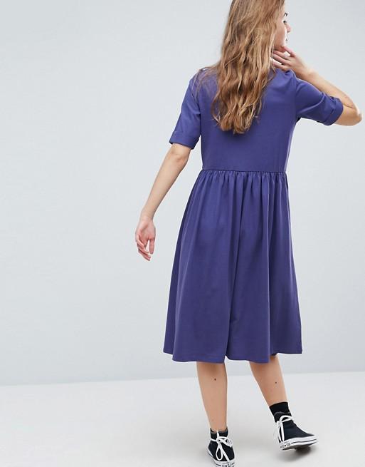 Vestido midi amplio de algodón Ultimate de ASOS