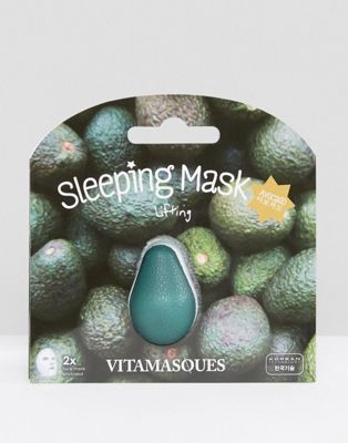 Image 1 of Vitamasque 3D Avocado Sleeping Mask