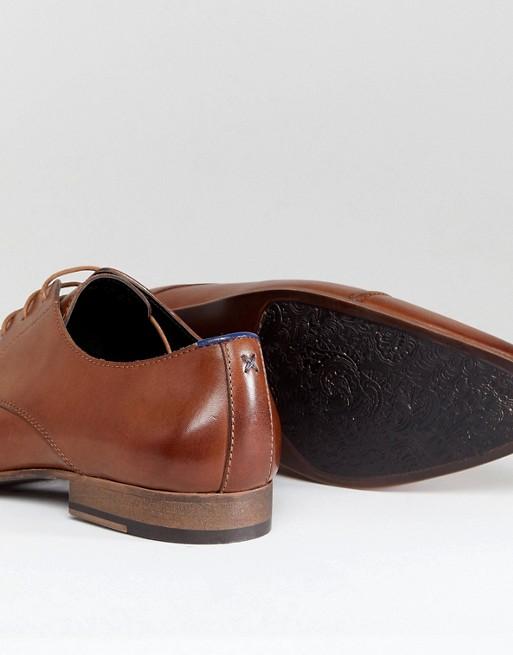 Walk London - City - Chaussures lacées à bout renforcé - Fauve