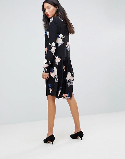 Y.A.S Tall - Robe droite à fleurs
