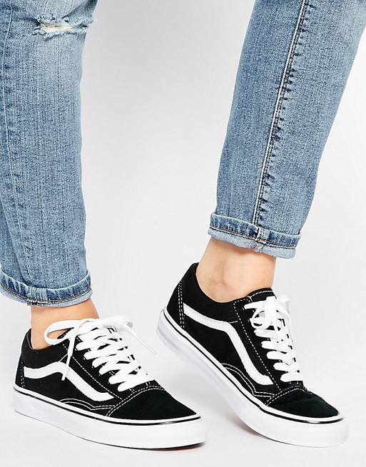 vans old skool negras 42