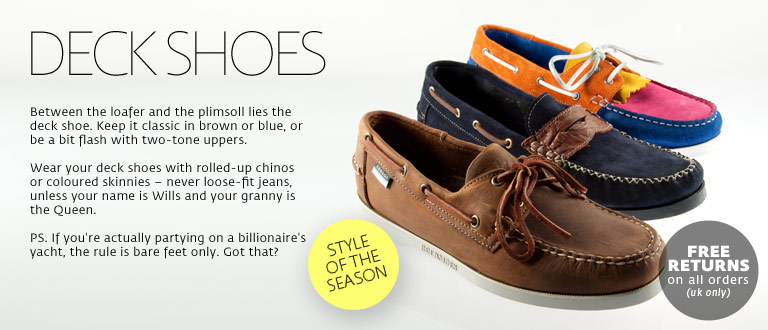 Men&#39;s boat shoes | Shop deck shoes &amp; boat shoes | ASOS