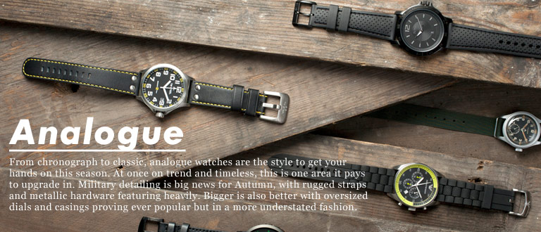 Analogue Watches | Men&#39;s Analogue Watches | ASOS.com