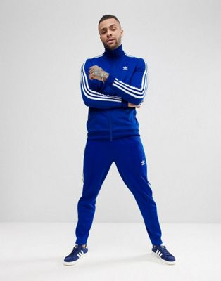 adidas Originals adicolor Beckenbauer Tracksuit in Blue