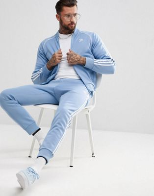 adidas Originals adicolor Superstar Tracksuit in Blue