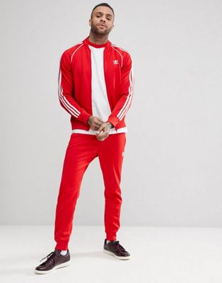adidas Originals adicolor Tracksuit in Red