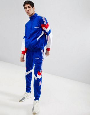 adidas Originals Vintage Tapered Tracksuit in Blue