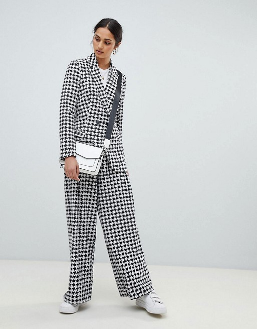 ASOS DESIGN Houndstooth Suit