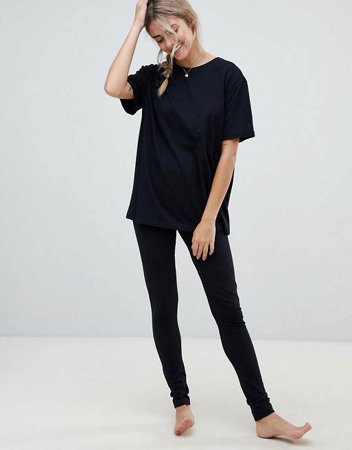 ASOS - Mix & Match - Leggings et t-shirt de pyjama