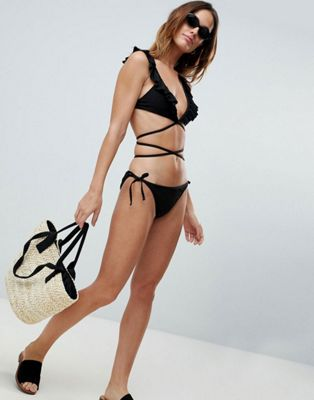 Fashion Union - Bay - Bikini - Noir