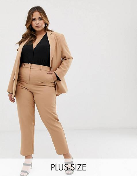 Fashion Union Plus blazer & pants two-piece