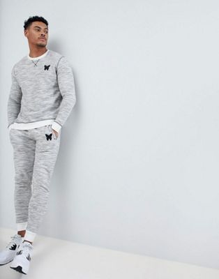 Good For Nothing Tracksuit In Gray Space Dye