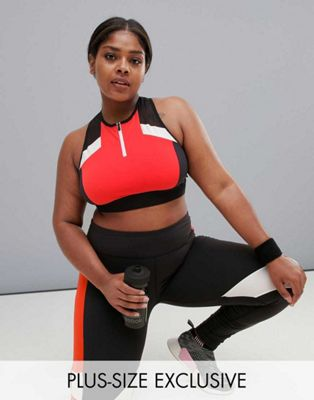 Reebok Plus Training Exclusive To ASOS Crop Top & Leggings