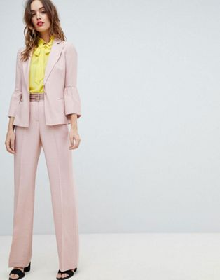 Sisley Fluted Sleeve Tailored Suit