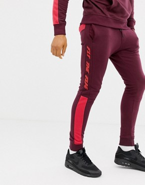Blend fly the flag sweatpants co-ord