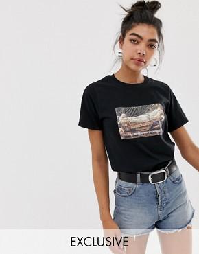 Adolescent Clothing boyfriend t-shirt with ready in 5 print & slogan