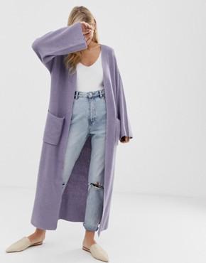 Micha Lounge oversized cardigan with pockets