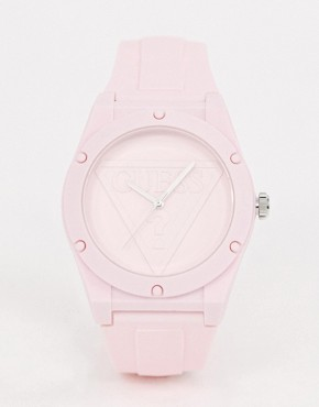 Guess Retro Pop W0979L5 silicone watch - Pink