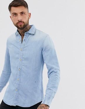 G-Star Bristum long sleeve denim shirt