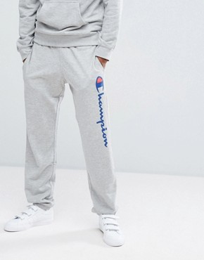 Champion Logo Joggers - Grey
