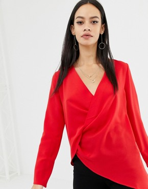 Unique21 twist front blouse