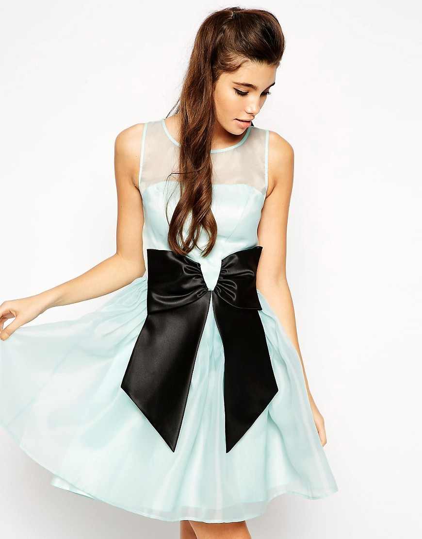 ASOS Skater Dress with Bow