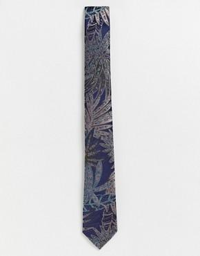 Ben Sherman floral printed tie