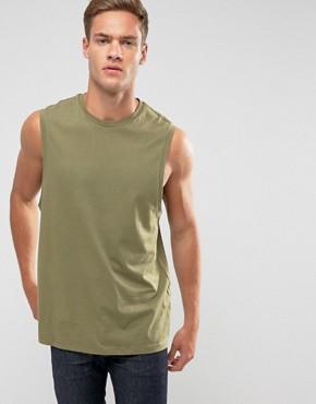 LDN DNM Vest - Green