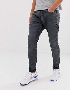 G-Star D-Staq 3d skinny fit jeans in dark aged cobler
