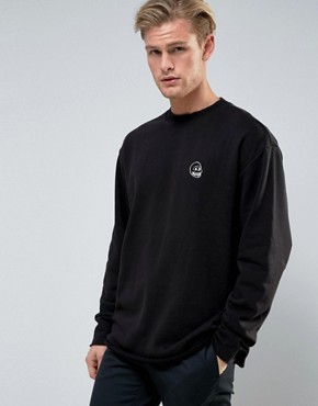 Cheap Monday Victory Now Sweater Tiny Skull