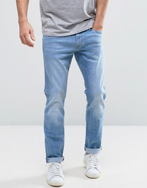 Esprit Slim Fit Jeans in Light Blue Wash