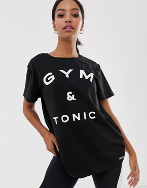 Haus by Hoxton Haus gym and tonic t-shirt